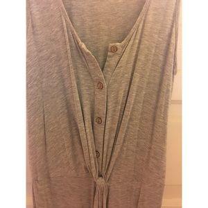 Mod Ref Dresses - Grey midi dress